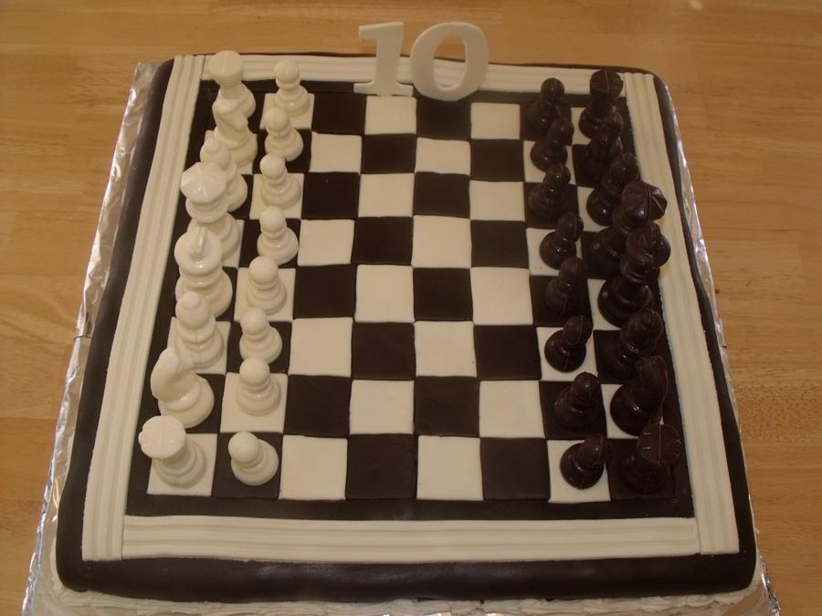 Chessboard Cake Cakecentral Com