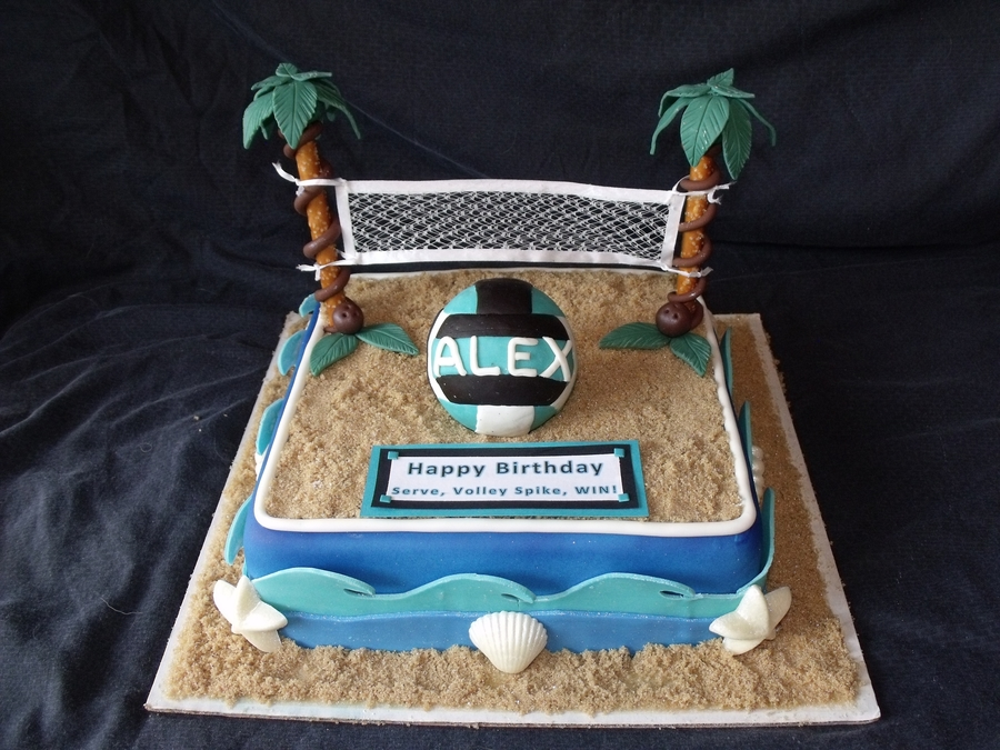 Beach Volleyball Cakecentral