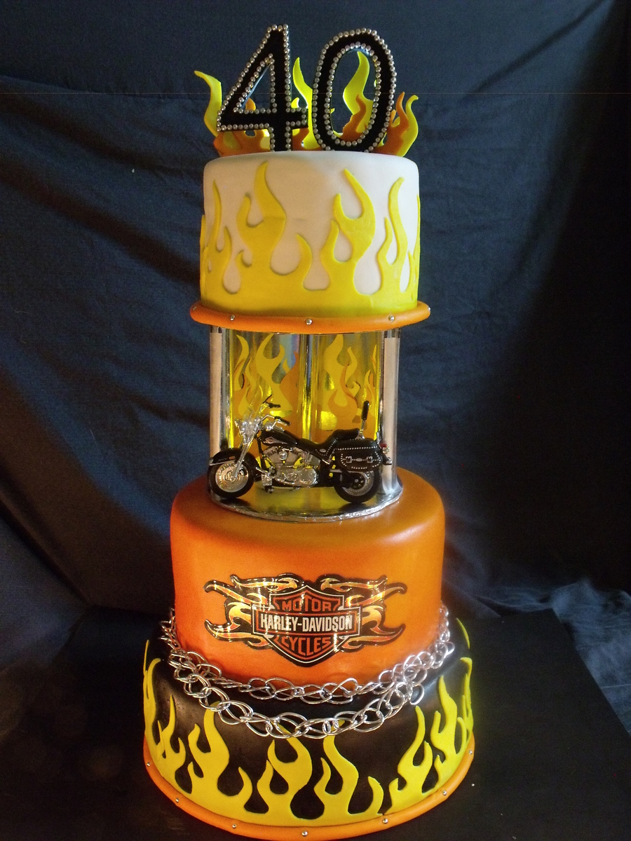 Harley Davidson Motorcycle on Cake Central