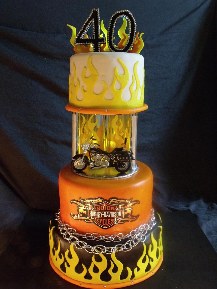Harley Davidson Motorcycle Cakecentral Com