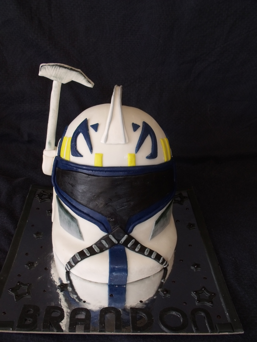 Star Wars Clone Trooper Captain Rex - CakeCentral.com