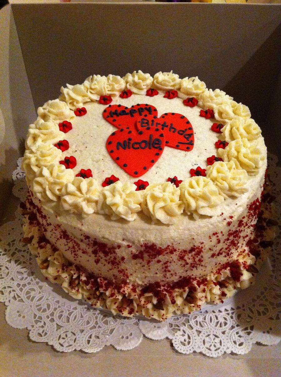 Red Velvet Birthday Cake Cakecentral