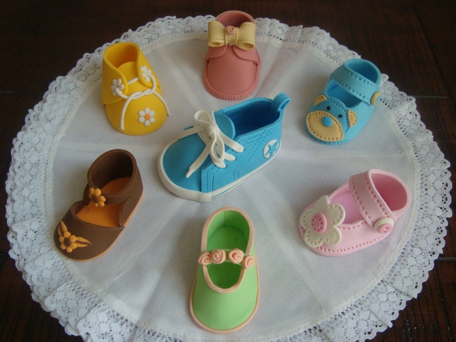Baby Shoes  on Cake Central