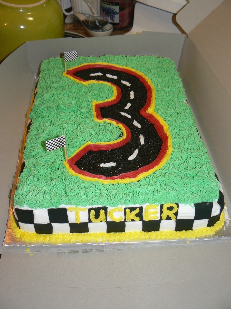 Cars Number 3 Cake on Cake Central