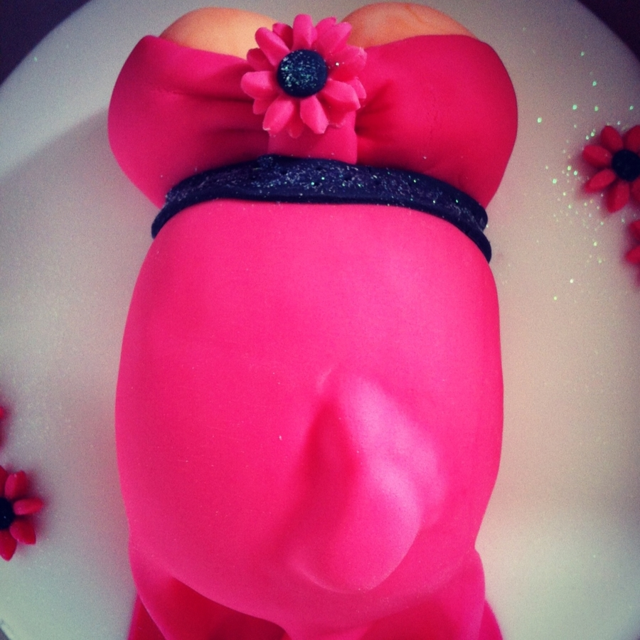 Baby Shower Pregnant Belly Cake