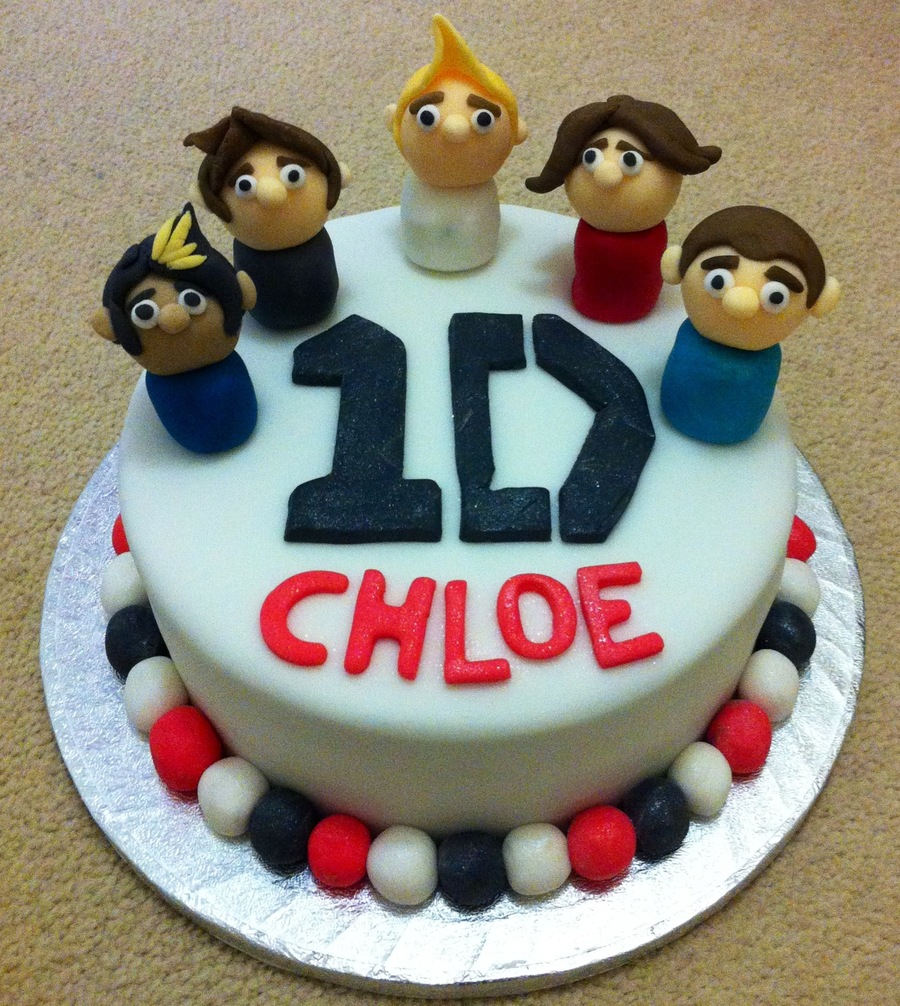 Phenomenal One Direction Birthday Cake Cakecentral Com Funny Birthday Cards Online Elaedamsfinfo