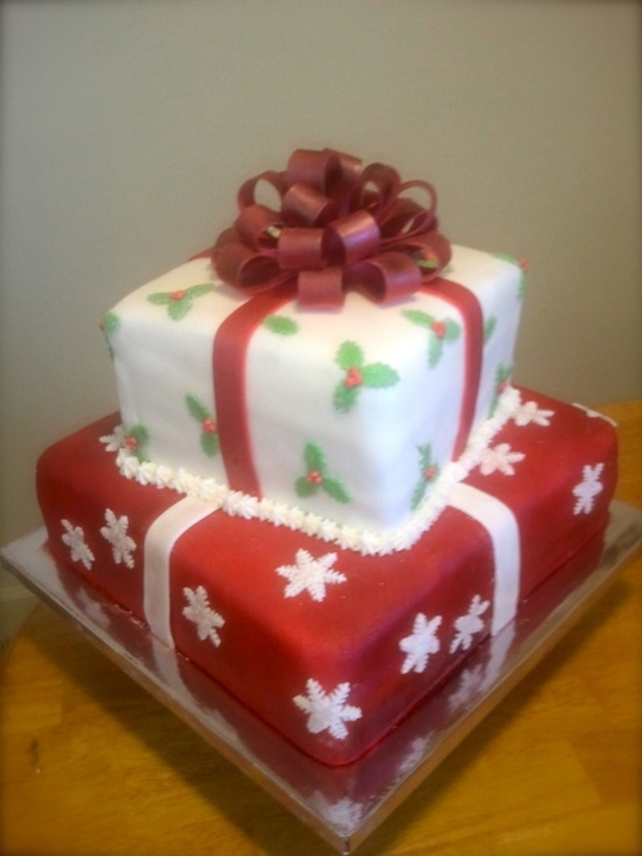 Christmas Presents Cake on Cake Central