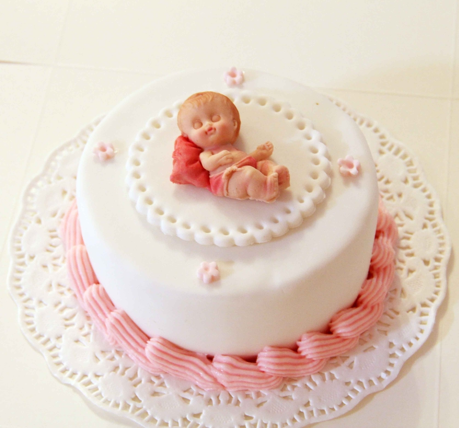 Baby Cake For One Month Old Celebration Cakecentral