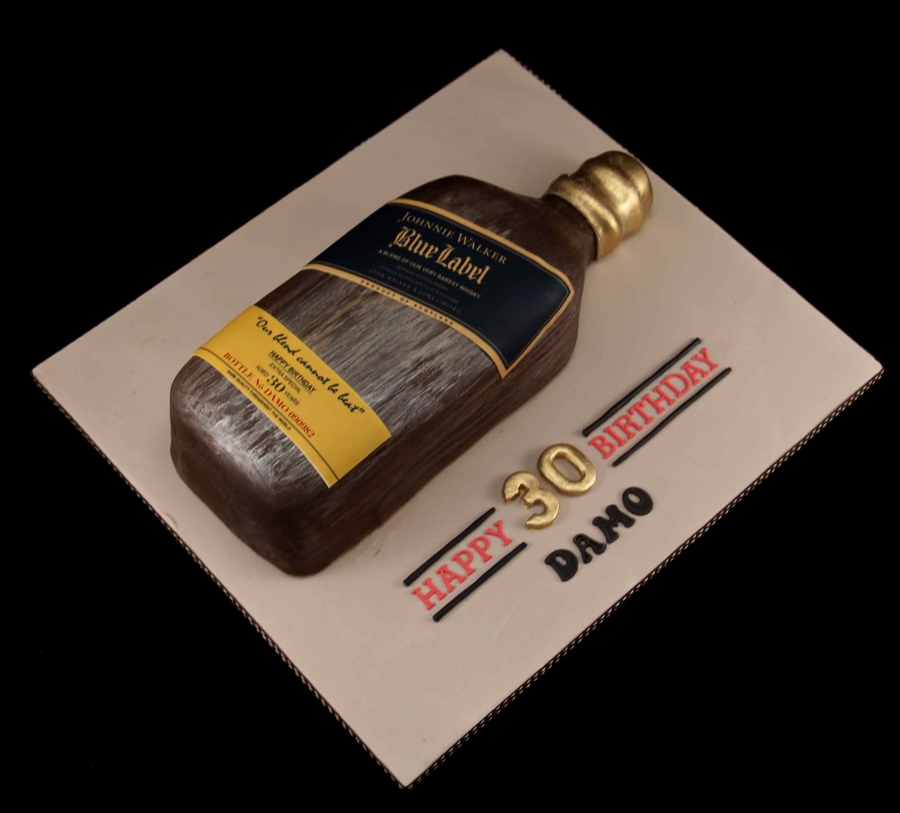 Johnnie Walker Blue Labe Cake on Cake Central