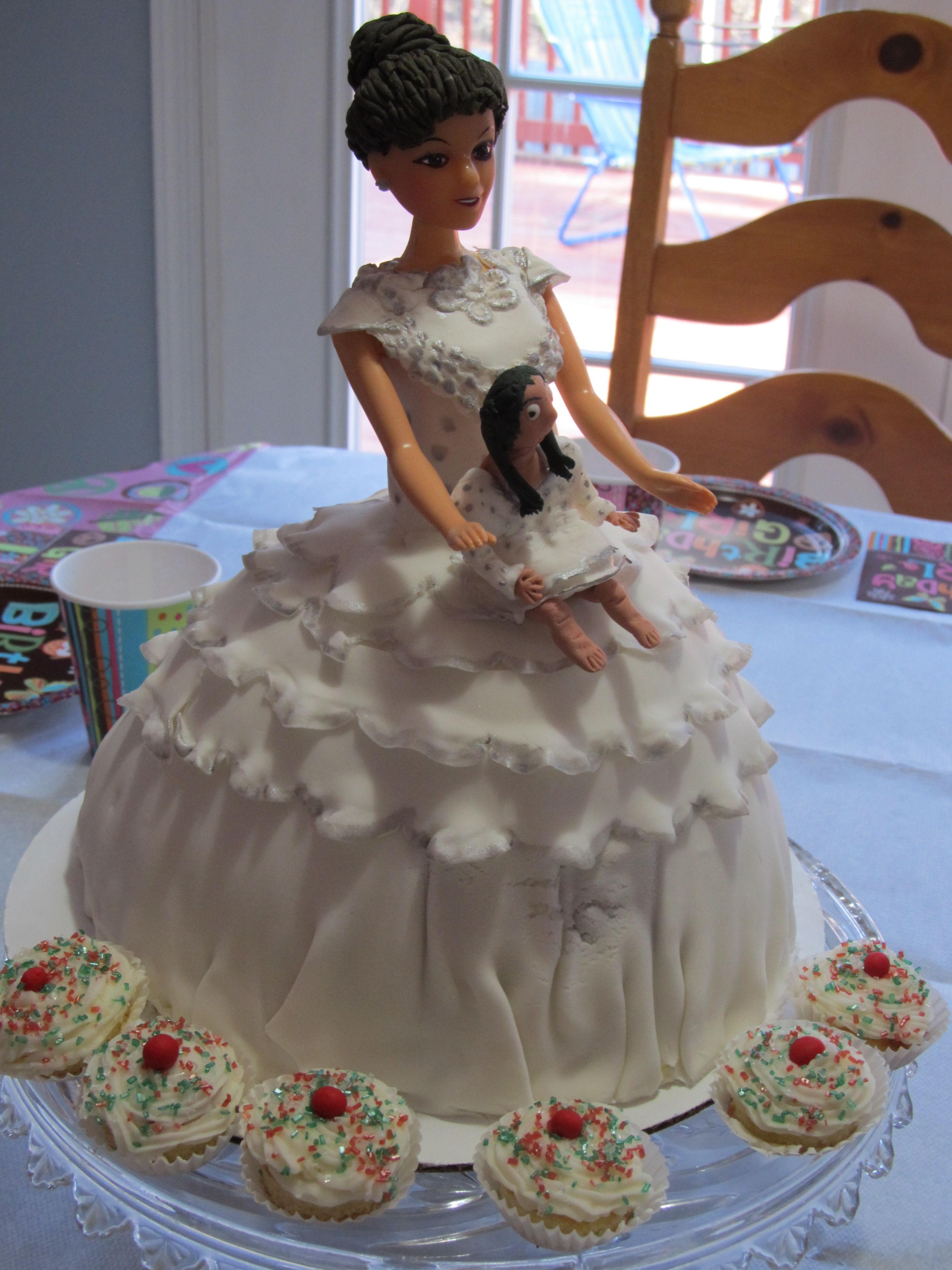 American Girl Doll Cake CakeCentralcom