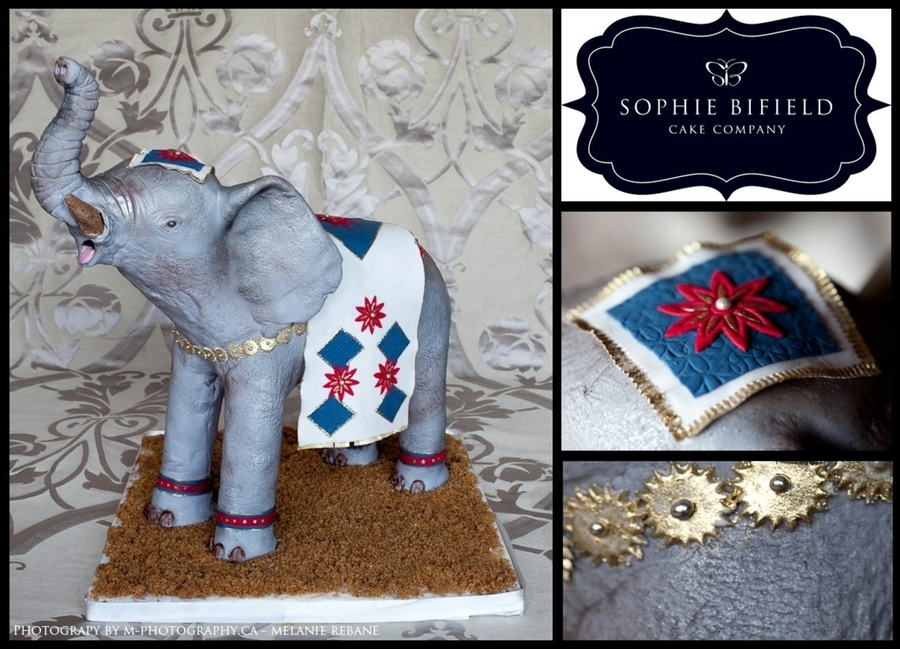 Elephant on Cake Central