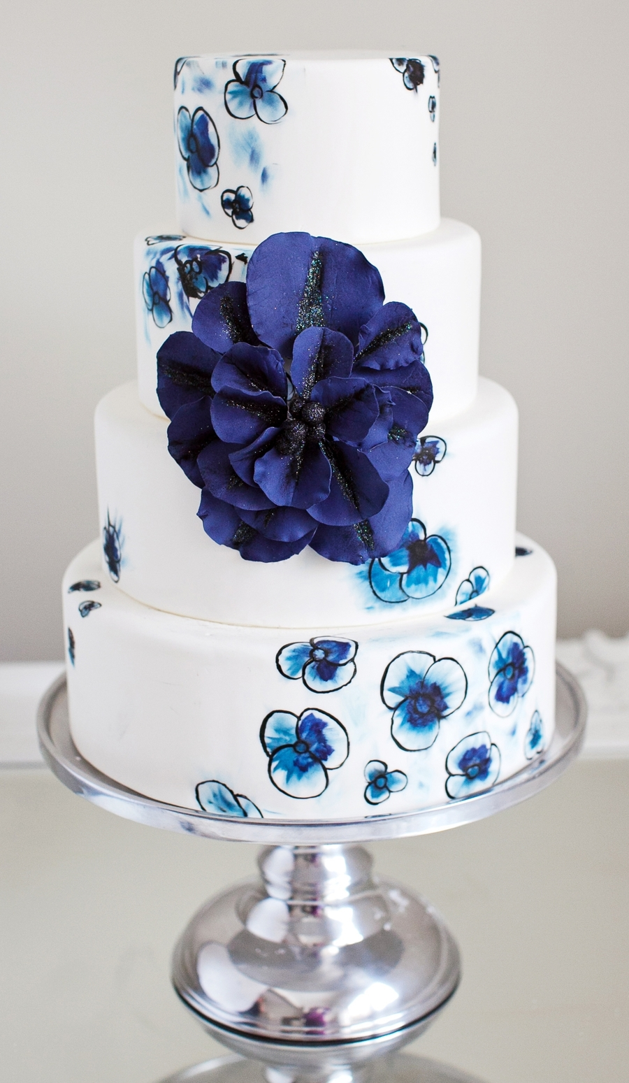 Hues Of Blues on Cake Central