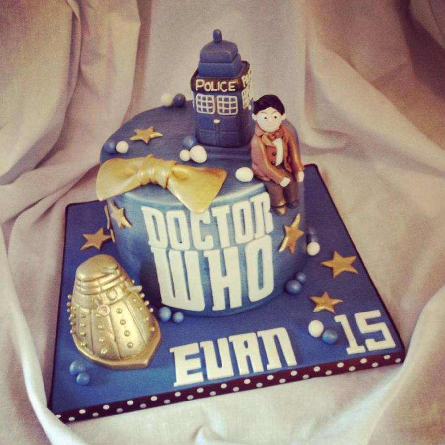 Super Dr Who Birthday Cake Cakecentral Com Funny Birthday Cards Online Alyptdamsfinfo
