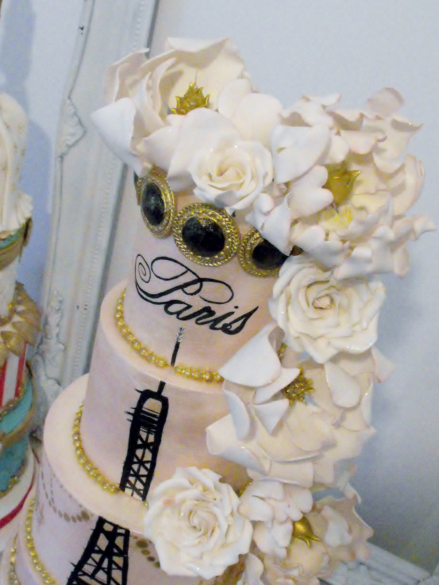 Paris Themed Wedding Cake CakeCentral