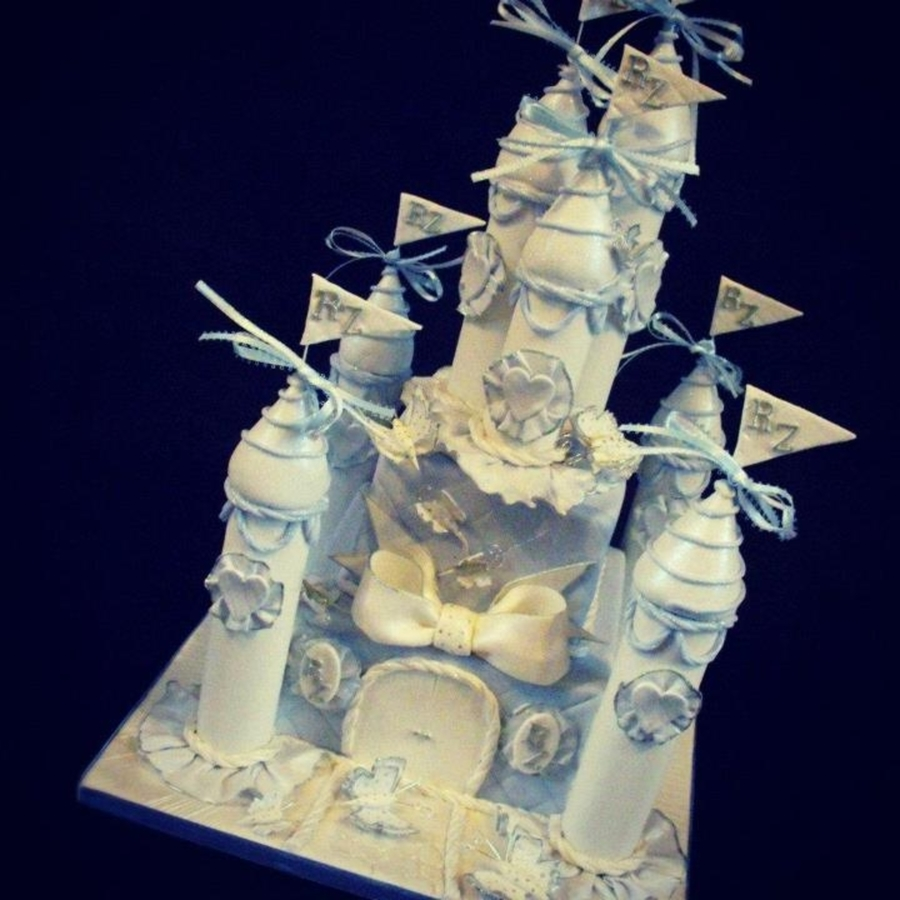 Fairytale Castle Wedding Cake on Cake Central