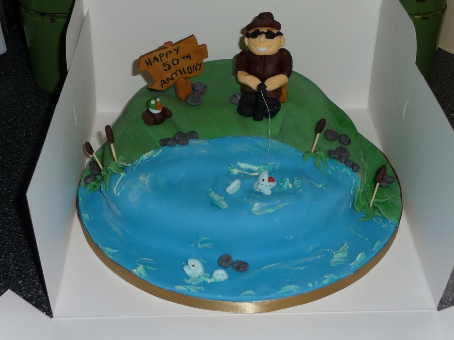 Fishing Cake on Cake Central