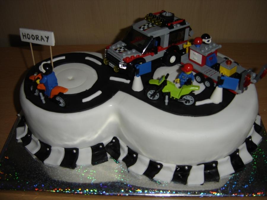 Lego Moto Cross Cakecentral