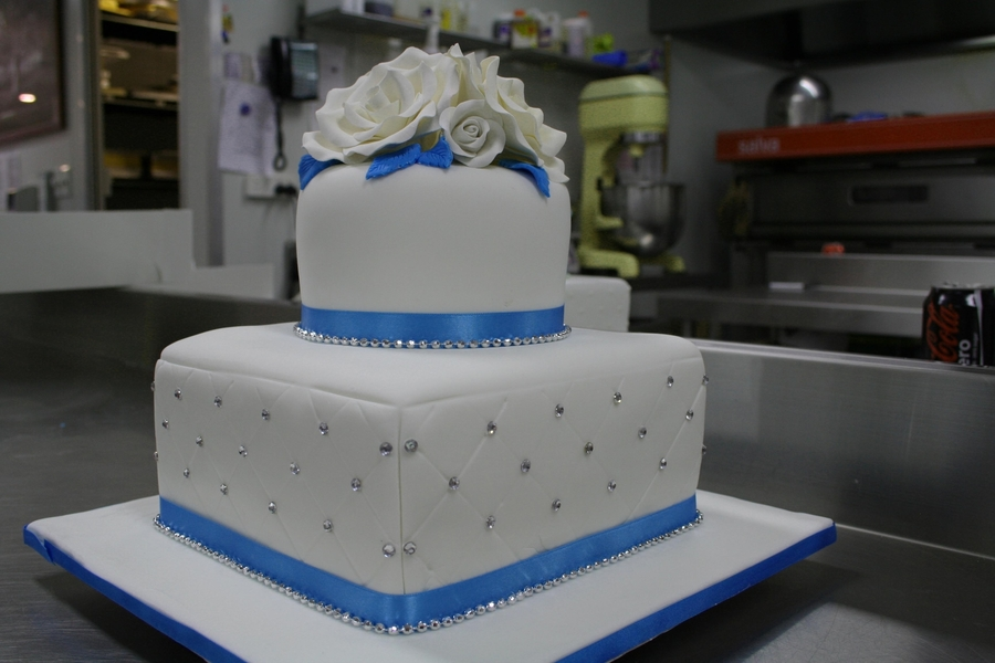 Wedding Cake, My Very First Cake on Cake Central