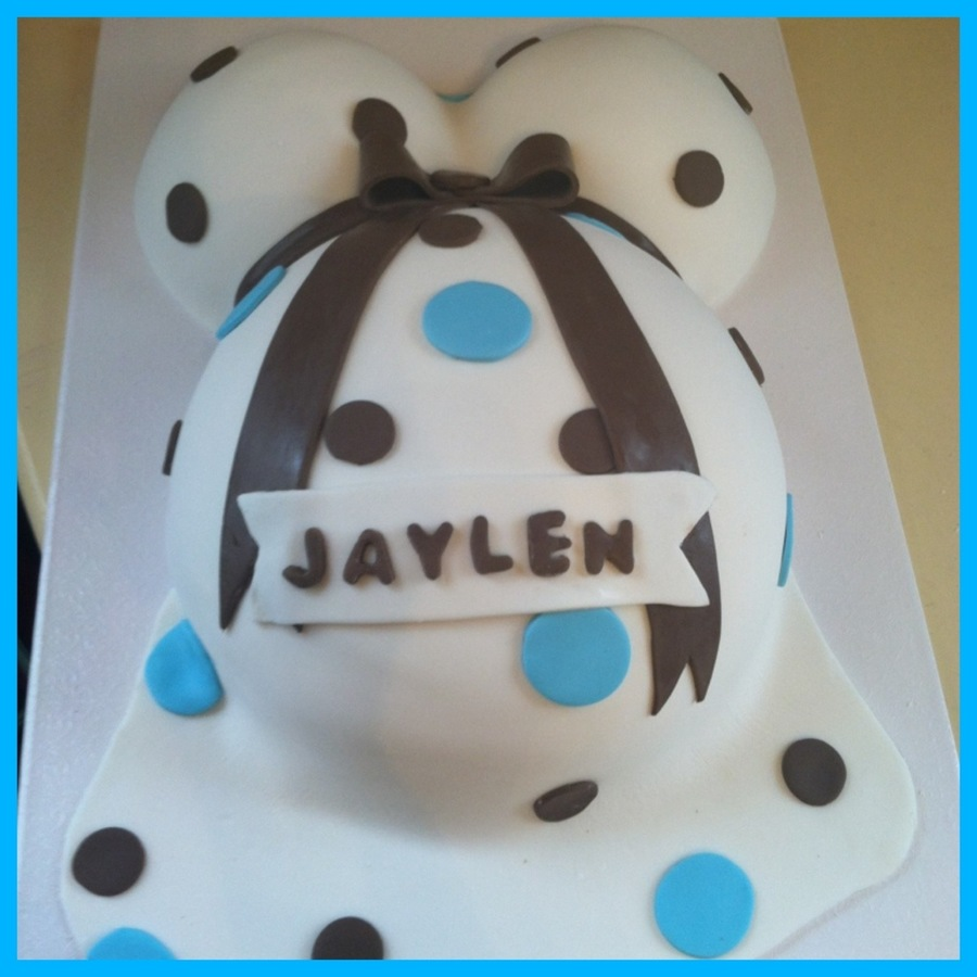Baby Bump Cake For Baby Shower on Cake Central