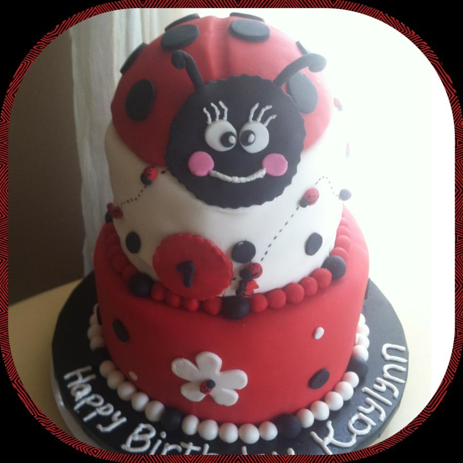 Ladybug Birthday Cake Cakecentral