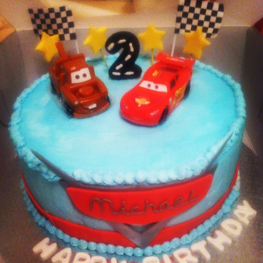 Disney Cars Birthday Cake on Cake Central