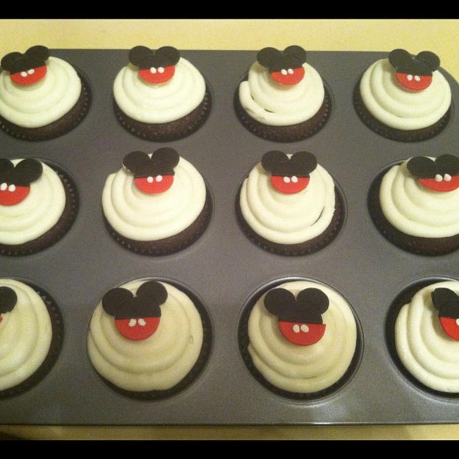 Mickey Mouse Cupcakes on Cake Central