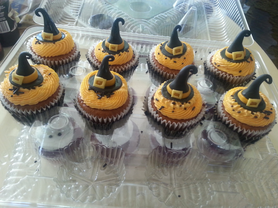 Halloween Witches Hat Cupcakes on Cake Central