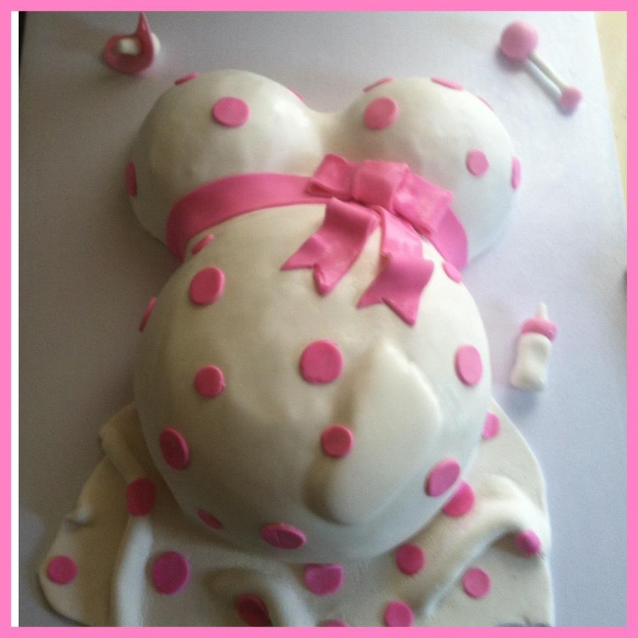 Baby Shower Bump Cake Recipe
