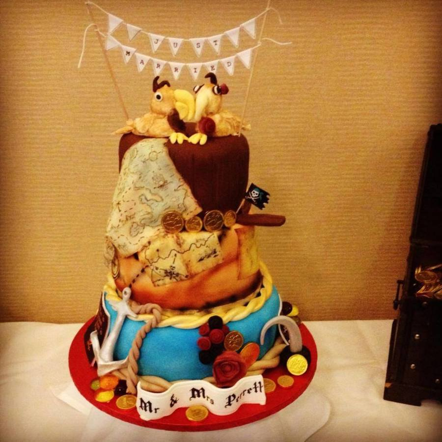 pirate themed wedding cakes pirate themed wedding cake cakecentral 18618