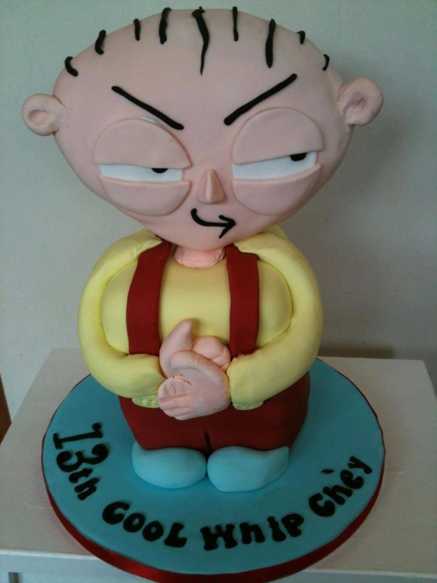 Family Guy Stewie Cake on Cake Central