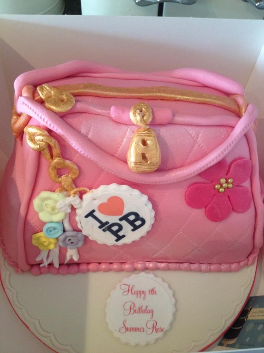 Pauls Boutique Handbag on Cake Central