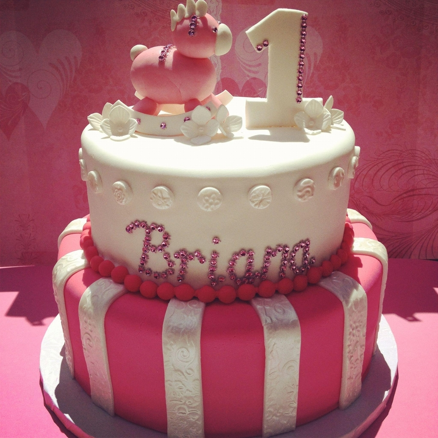 Two Tier Birthday Cake