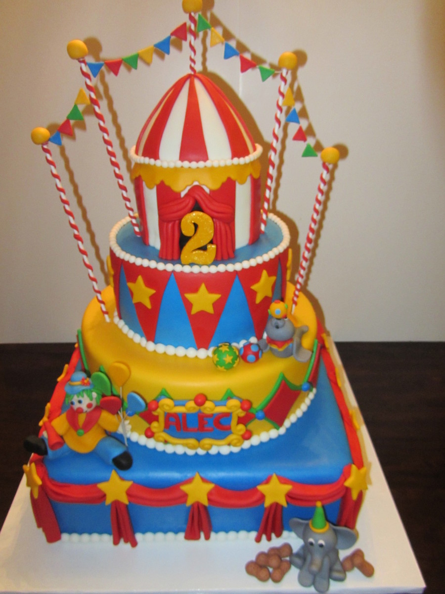 Carnival Circus Birthday Cakecentral Com