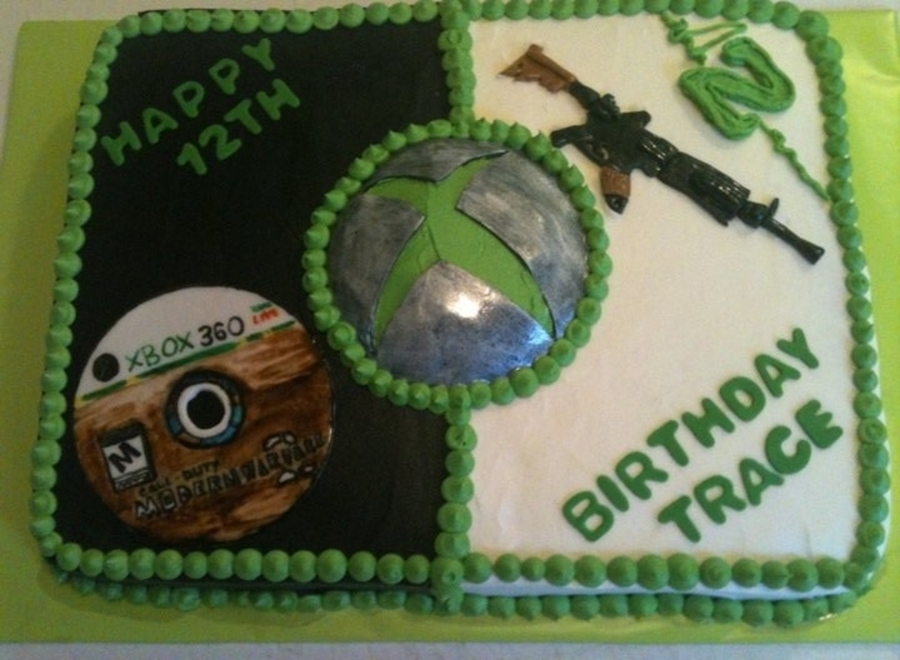 X-Box Cake  on Cake Central