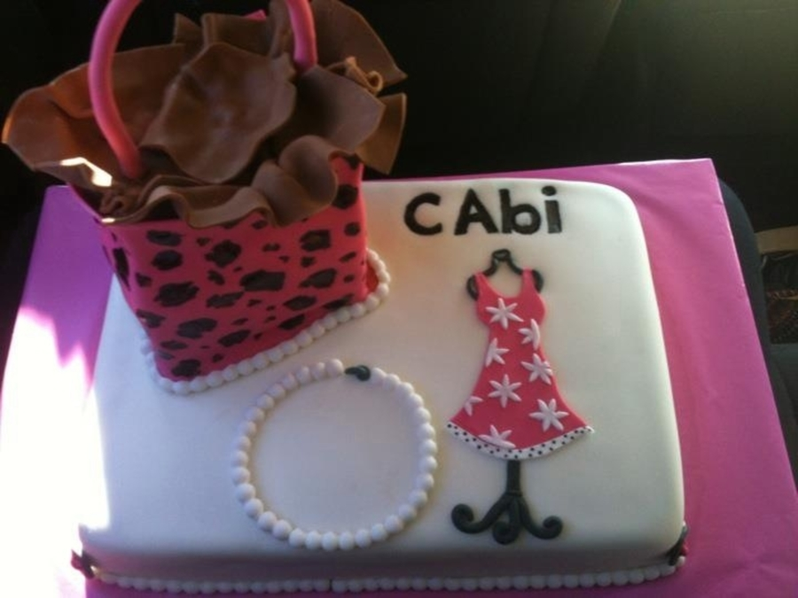 Cabi Party Cake  on Cake Central