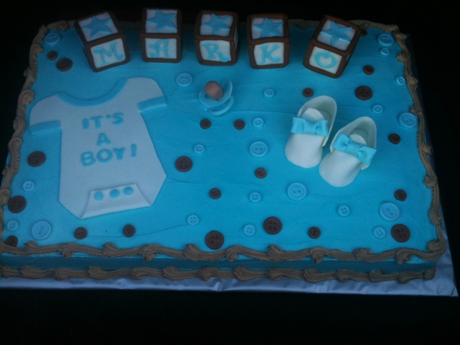Baby Shower Boy on Cake Central