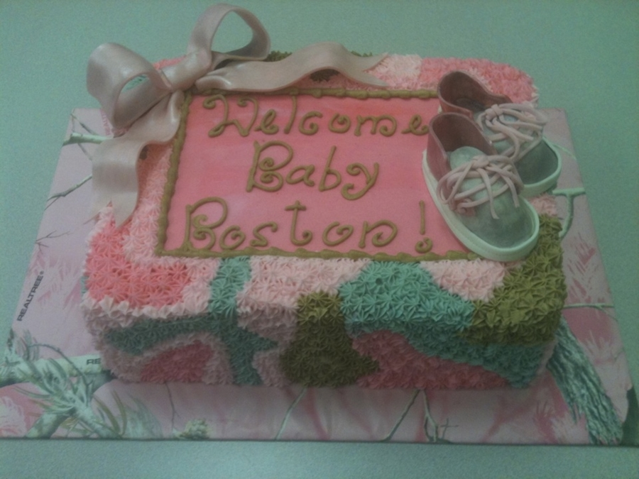 Camo Baby Shower on Cake Central