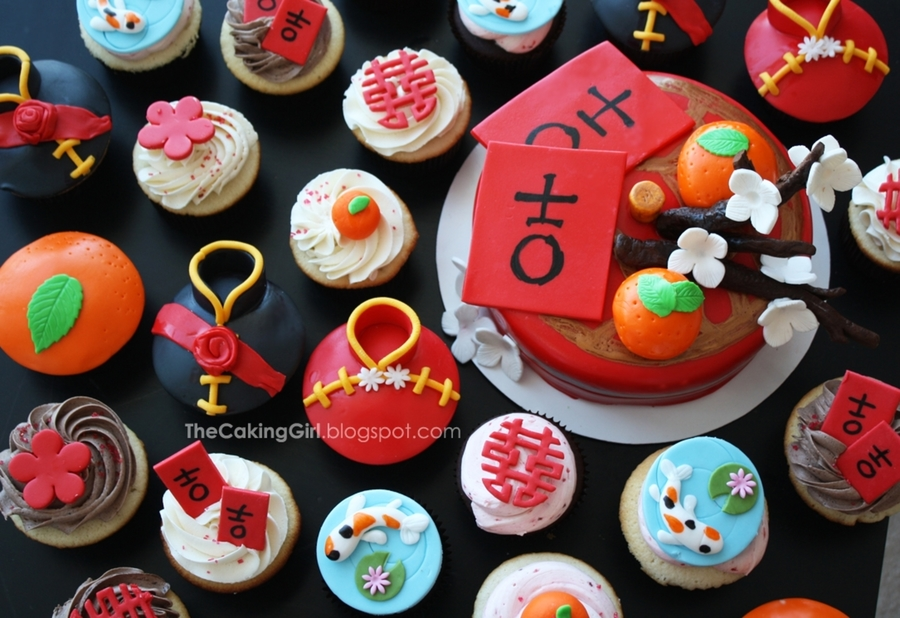Chinese New Year Cupcakes! on Cake Central