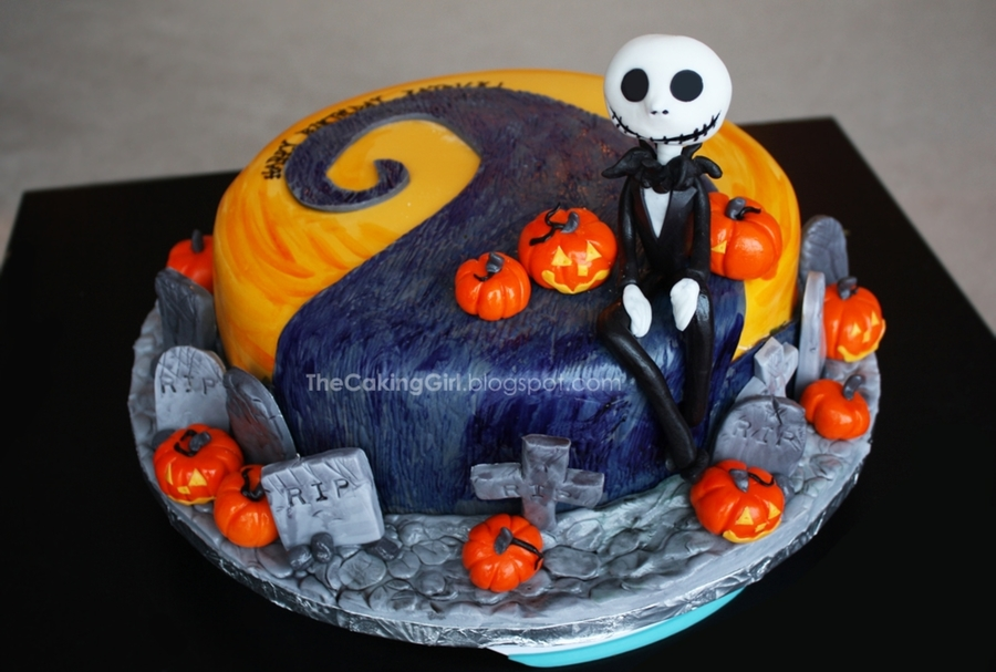 The Nightmare Before Christmas Cake! on Cake Central
