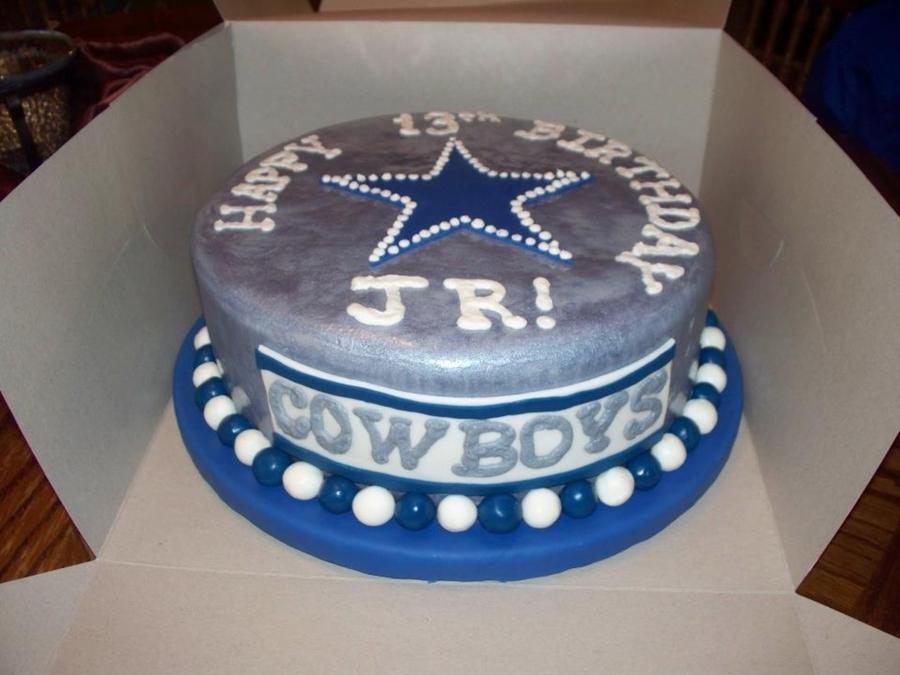 Pleasing Cowboys Birthday Cake Cakecentral Com Funny Birthday Cards Online Alyptdamsfinfo