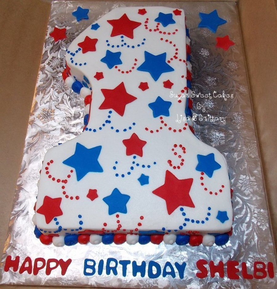 4Th Of July 1St Birthday On Cake Central