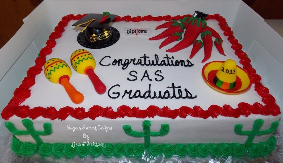Mexican Themed Graduation on Cake Central