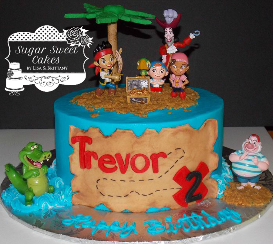 Magnificent Jake The Neverland Pirates Cakecentral Com Funny Birthday Cards Online Inifodamsfinfo