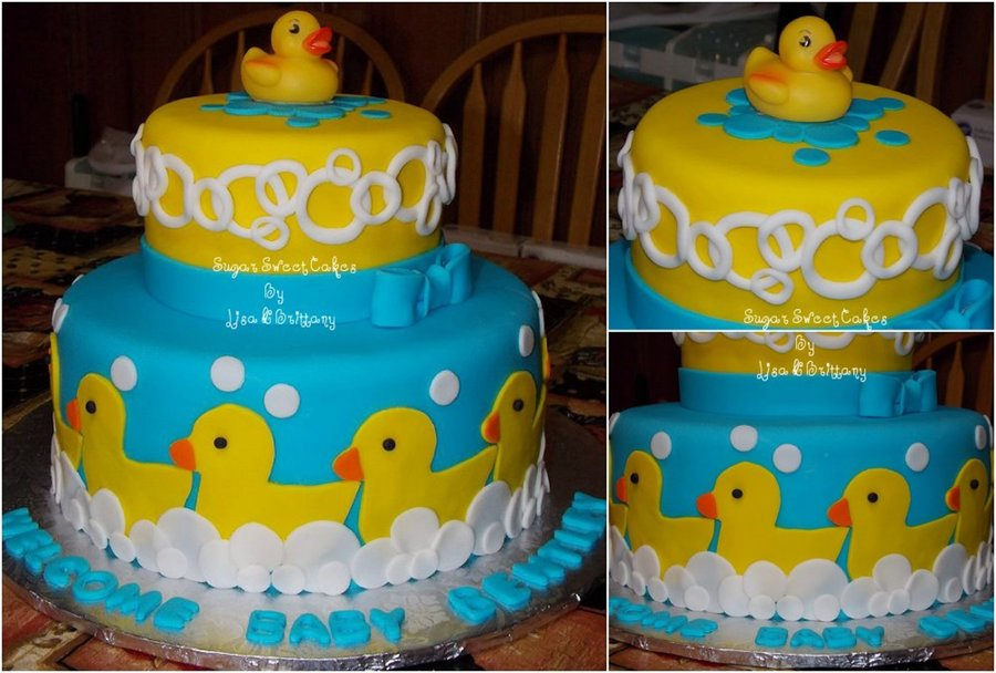 Rubber Ducky Baby Shower on Cake Central