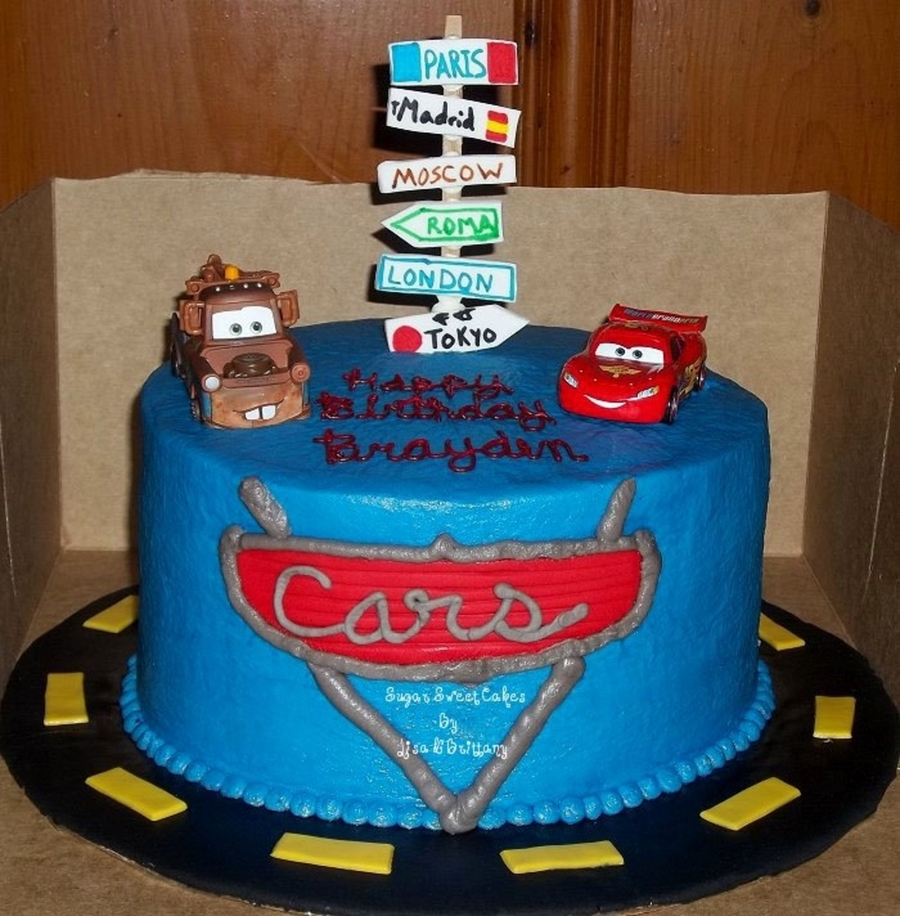 Cars 2  on Cake Central