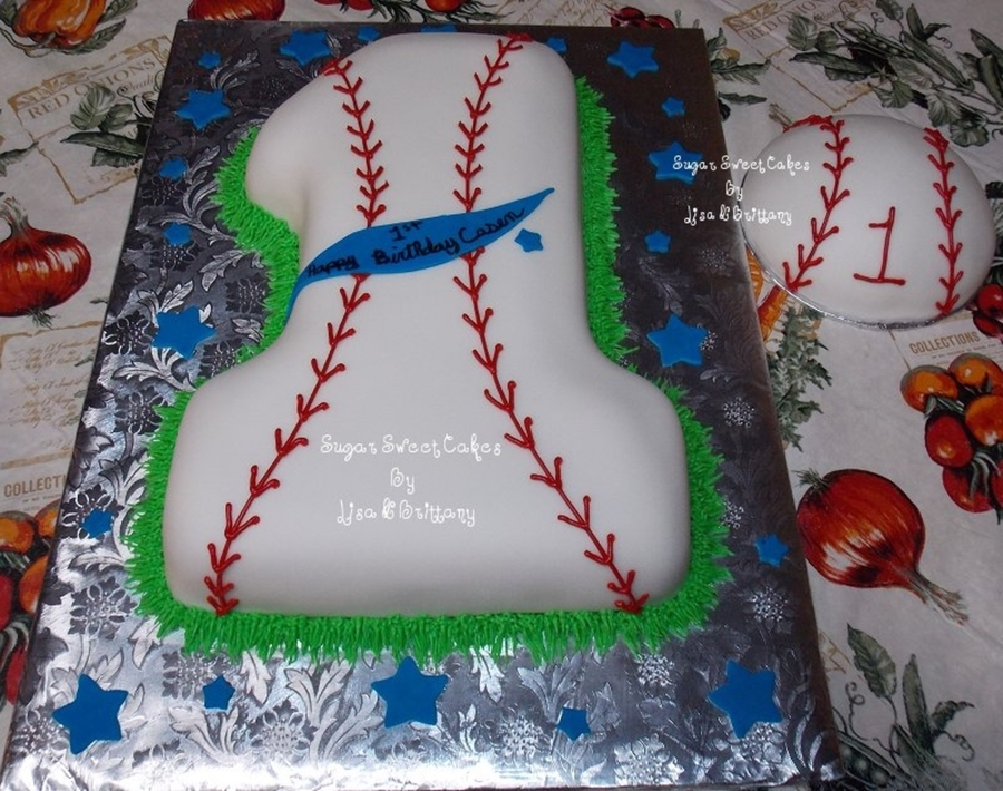 Baseball 1st Birthday Cakecentral