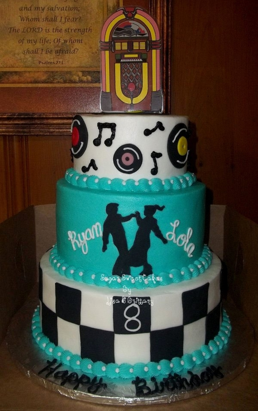 Sock Hop ~ Double Birthday on Cake Central