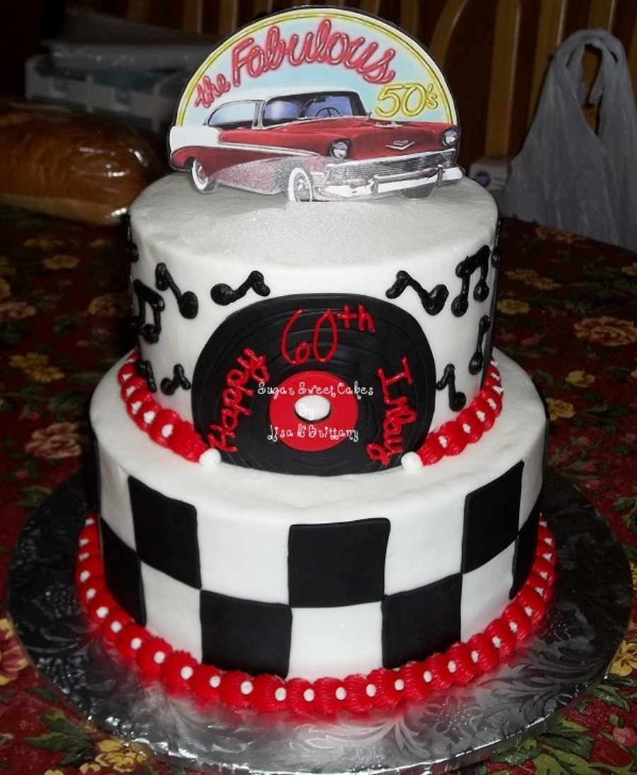 Th Birthday Record Cake