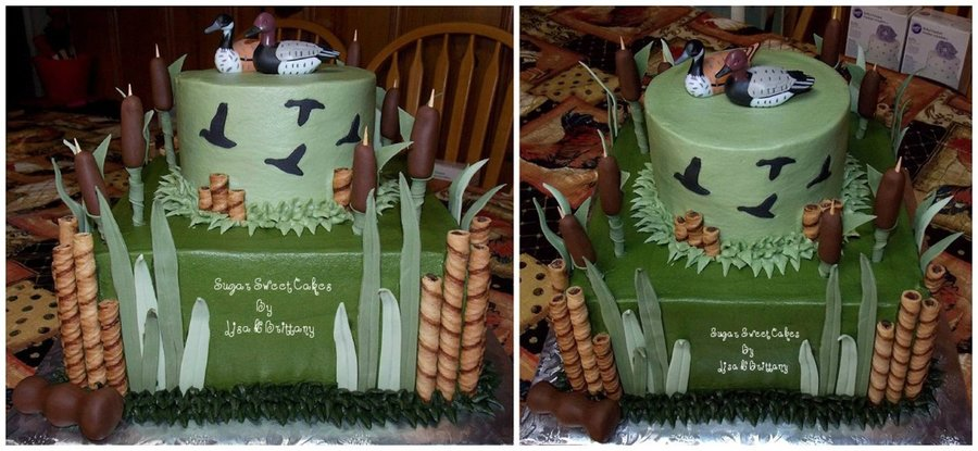 Duck Hunting Grooms Cake Cakecentral Com
