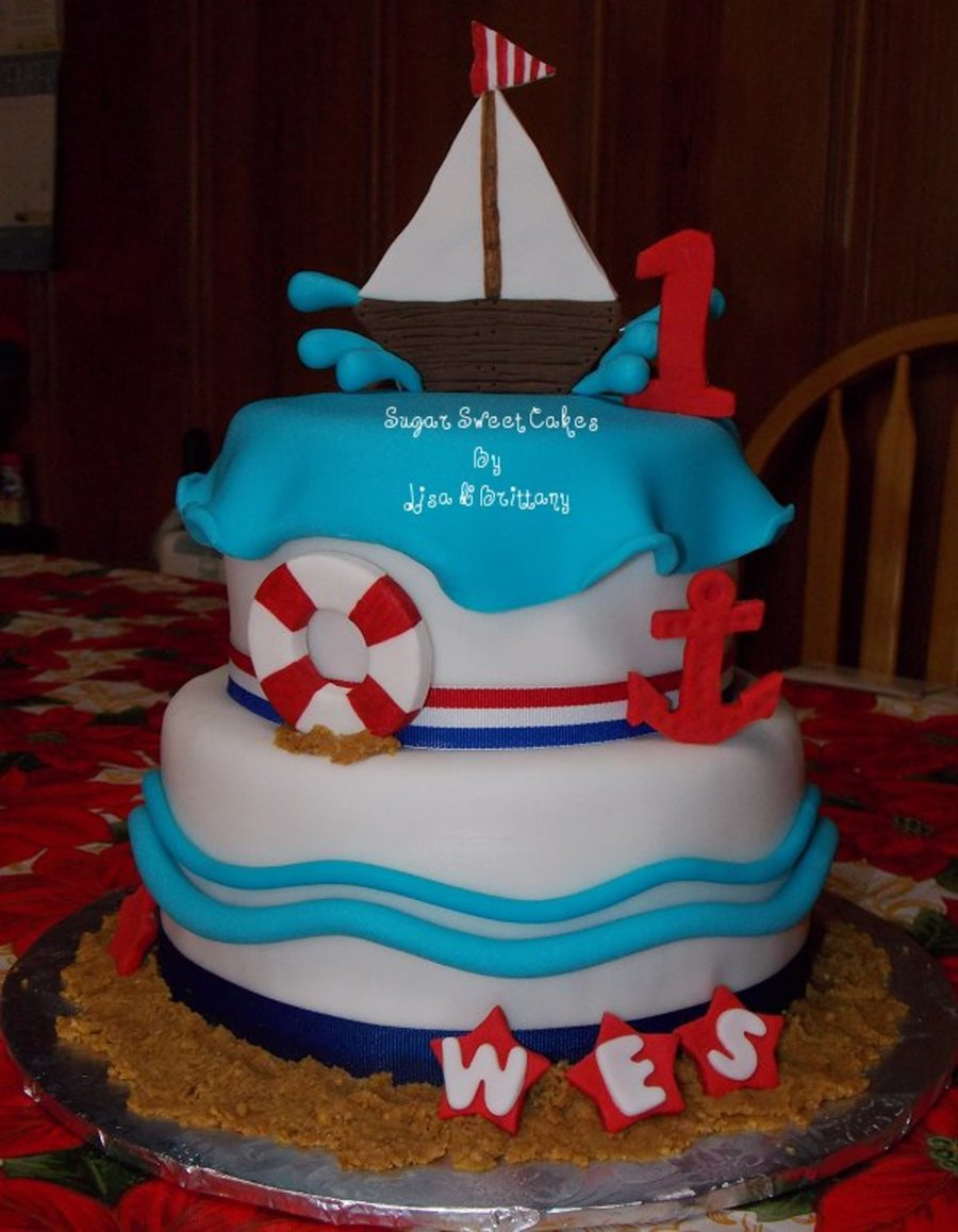 Edible Anchor Cake Decorations